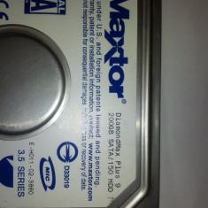 Hard Disk Maxtor, 200-499 GB, Rotatii: 7200, SATA, 8 MB - HDD Maxtor 200GB SATA