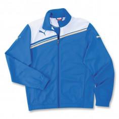 Bluza Puma King - Bluza barbati Puma, Marime: L, Culoare: Albastru, Cu fermoar