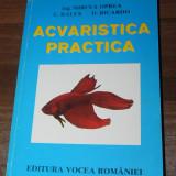 2 CARTI MIRCEA OPREA, C RALEX, D RICARDO - ACVARISTICA PRACTICA. v voican, i radulescu