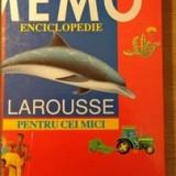 Carte educativa aquila `93 - Memo Enciclopedie Larousse pentru cei mici - Martine si Daniele Sassier, Viviane Koenig; editura aquila