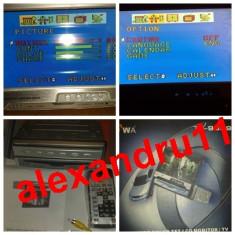 TV televizor retractabil auto cu radio telecomanda LCD color 7 inch model 9989