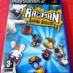 Joc Rayman Raving Rabbids, PS2, original, 24.99 lei(gamestore)! - Jocuri PS2 Ubisoft, Actiune, 3+, Single player