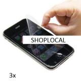 VAND FOLII  - 3X FOLIE IPHONE 3 3G (SET DE 3 BUC) - LIVRARE GRATUITA IN TARA !!! CEL MAI MIC PRET