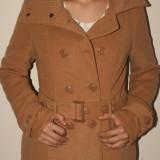 Palton dama, Bej, Poliester - Haina / jacheta / palton New Yorker (AMISU)