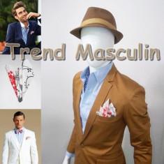 Batista Barbati - Batista de Buzunar Fashion Alba Floral