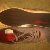 Adidasi REEBOK model frumos MADE IN VIETNAM PIELE - Adidasi barbati Reebok, Marime: 44.5, Culoare: Gri, Marime: 45.5, Gri