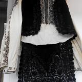 Costum populare, Marime: 40, Negru - Costum popular zona Olteniei