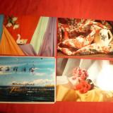 Set 3 Ilustrate Reclame Comerciale Textile Shanghai China anii'70