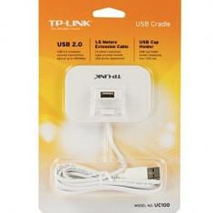 TP-LINK Prelungitor Cablu USB 2.0 lungime 1.5 metri - Placa de retea Tp-link, Extern