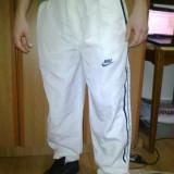 Pantaloni trening, subtiri, Nike de barbati - Trening barbati Nike, Marime: XL, Culoare: Alb, Poliester