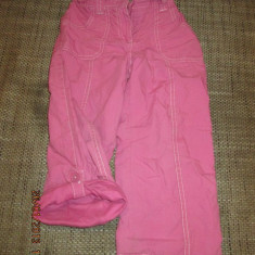 Pantaloni 4-5 ani 110 cm roz Cherokee