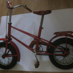 Jucarie de colectie - REDUCERE 140 LEI! BICICLETA SOVIETICA DE COLECTIE PENTRU COPII DIN ANII 80