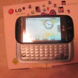 VAND LG GW620 - Telefon LG, Negru, Orange, Single core, 256 MB, 3''
