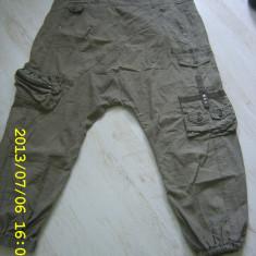 Pantaloni harem superbi ONLY - Pantaloni dama Only, Marime: L, Culoare: Khaki
