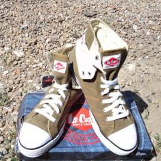 Pantofi Lee Cooper original model deosebit din Anglia - Tenisi barbati Lee Cooper, Marime: 42, 43, Culoare: Khaki, Marime: 41, Gri