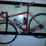 Bicicleta Pinarello - Cursiere, 16 inch, Numar viteze: 27, 24 inch, Carbon, Rosu
