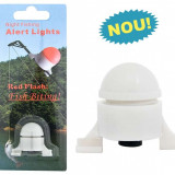 Dispozitiv de avertizare luminoasa pt. varf (1 suport) Semnalizator Feeder Luminos - Avertizor pescuit