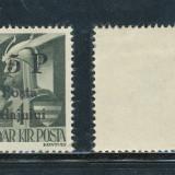 Timbre Romania - RFL ROMANIA 1945 Transilvania de Nord Posta Salajului timbru local 5P/1f