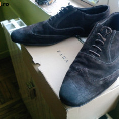 Pantofi barbati - Pantofi zara, palton ringspun