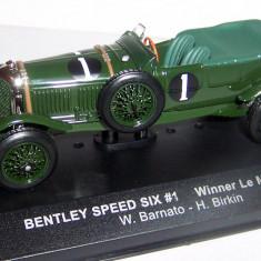 IXO Bentley Speed Six Winner LeMans 1929 1:43 - Macheta auto Hot Wheels