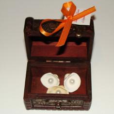 Marturii nunta - Marturie sub forma de cufar din lemn