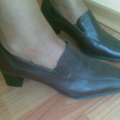 Pantofi dama Bata, Marime: 40, Maro - Pantofi din piele firma BATA marimea 40, sunt noi!