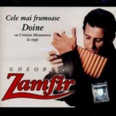 Gheorghe Zamfir - Cele Mai Frumoase Doine - Muzica Populara a&a records romania, CD