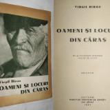 Caras Severin (Resita,Oravita,Anina,Almaj,Semenic,Ada-Kaleh),monografie,1943 (cu dedicatie si autograful autorului,Virgil Birou)