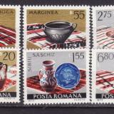 Romania 1973 Ceramica romaneasca serie completa neuzata - Timbre Romania