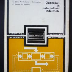 Optimizari in automatizari industriale - S. Calin - Carte retelistica