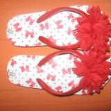 Papuci copii, Fete - Papuci Matalan, cu eticheta, mar. 28 - REDUCERE!
