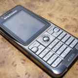 Telefon mobil Sony Ericsson, Argintiu, Neblocat, Single SIM, 2'', Clasic - Sony Ericsson K530i Stare Perfecta.