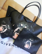 SET Geanta GIVENCHY replica model 2013 + husa tableta netbook + portofel - TRANSPORT GRATUIT foto