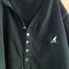 Tricou Kangol - Tricou barbati Kangol, Marime: M, Culoare: Negru, M, Maneca scurta, Negru
