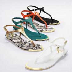 Vand Sandale Victoria's Secret - aurii, marimea 36, noi - superbe, disponibile imediat - Sandale dama Victoria S Secret, Culoare: Auriu, Auriu