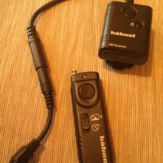 Declansator Hahnel, telecomanda Radio pentru Canon - Telecomanda Aparat Foto