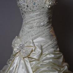 Rochie de mireasa Lorange - Rochie de mireasa printesa