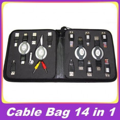 Trusa cablu usb, conectari cabluri usb to rj45, mufa usb mama-tata - Cablu de date