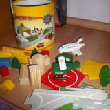Pista cu masinute de lemn - Masinuta de jucarie, 4-6 ani