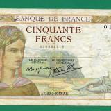 Franta 500 francs 22 februarie 1940 VF pick 85
