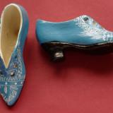 Bibelou vechi - pereche incaltaminte dama din ceramica