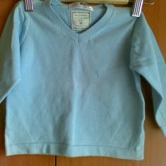 Pulover ZARA copii 9-12 luni, Culoare: Bleu