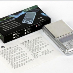 Cantar Bijuterii Digital precizie 0, 01g - 200g cu Afisaj LCD + Baterii Incluse