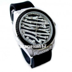 Rolex DateJust Royal Black ! ! ! Cutie Cadou ! Cea Mai Buna Calitate ! ! ! - Ceas dama Rolex, Lux - elegant, Quartz, Inox, Cauciuc, Data