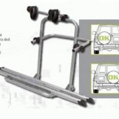 Suport Auto Biciclete - Suport 3 Biciclete cu montaj pe Roata de Rezerva pentru SUV 4x4