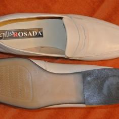 Pantofi dama, Marime: 39, Alb - Pantofi noi super comozi mar 39 culoare fildes