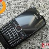 Telefon mobil Nokia E71, Negru, Neblocat - VAND NOKIA E71 BLACK -STARE IMPECABILA- 300 LEI