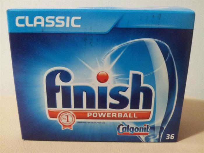Tablete masina spalat vase Finish Classic (36 bucati) foto mare