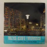 Disc vinil vinyl pick-up MEDIU Electrecord MUZICA USOARA ROMANEASCA Tinerete Mandoline Alexandru Imre Sile Dinicu Constantin Draghici EDD-1157 - Muzica Pop