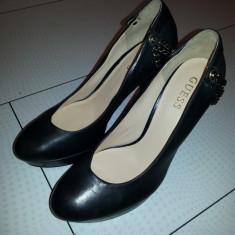 Vand pantofi GUESS noi-nouti - Pantof dama Guess, Marime: 40, Culoare: Negru, Negru